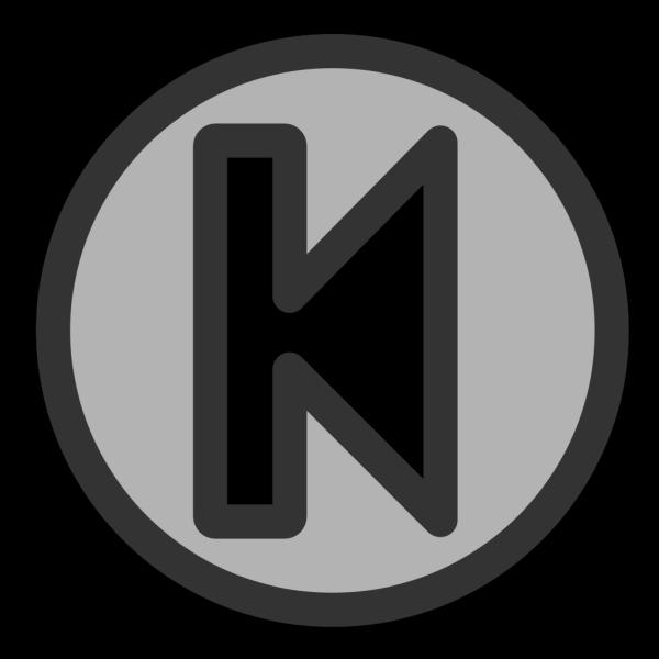 Left Arrow With Bar PNG Clip art