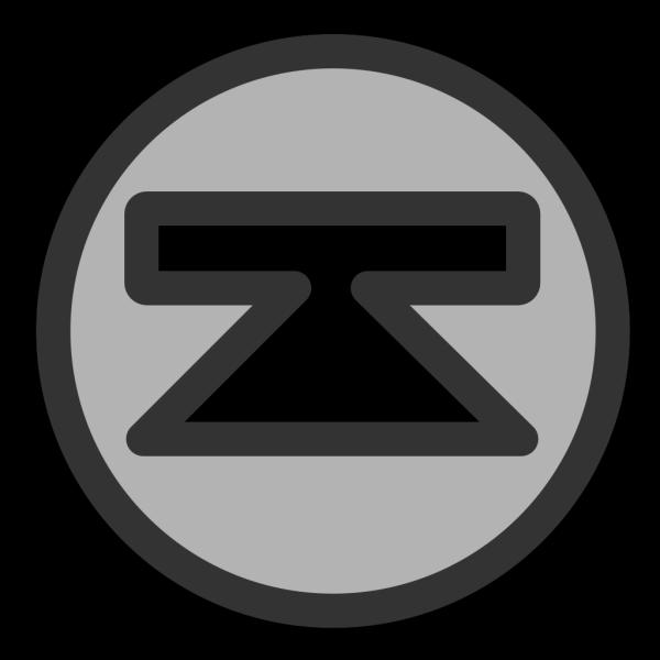 Up Arrow With Bar PNG Clip art