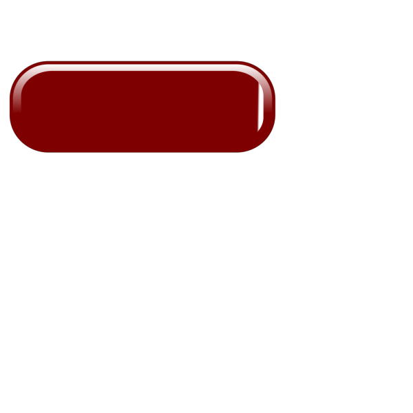Long Button Red Off PNG Clip art
