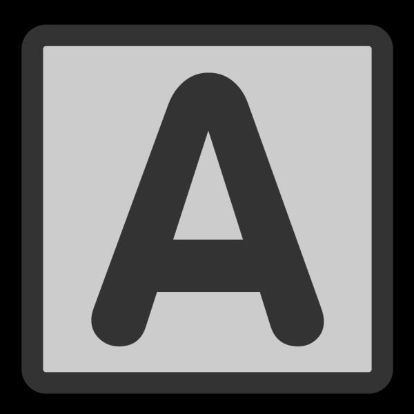 Bold Font PNG Clip art