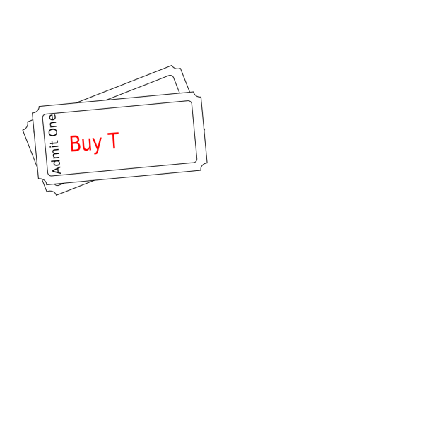 Buy Ticket Button PNG Clip art