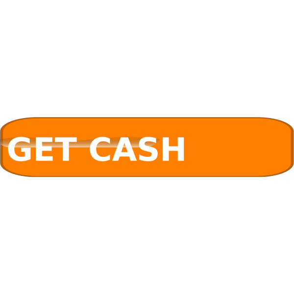 Orange Cash Button4 PNG clipart