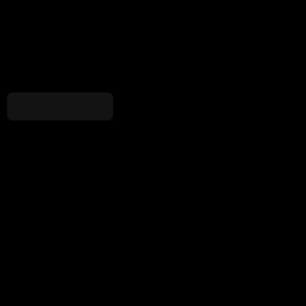 Gray Login Thin Button PNG Clip art