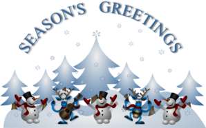 Seasons Greetings PNG clipart