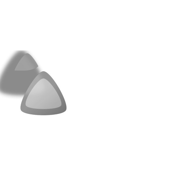 Greytriangle PNG Clip art