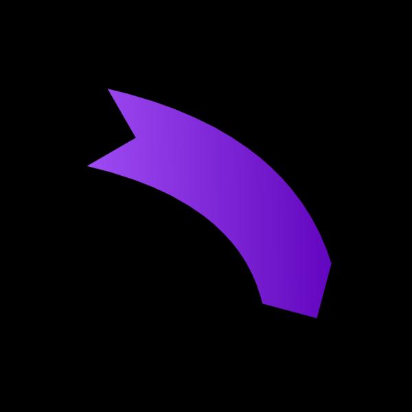 Left Purple Arrow PNG Clip art