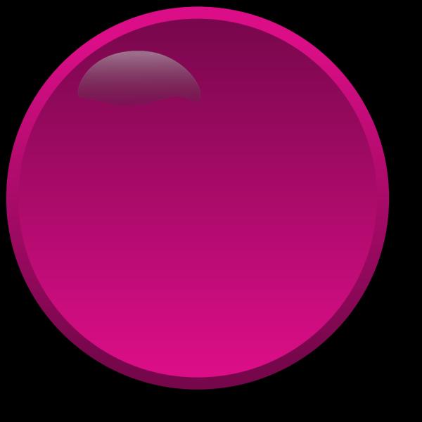 Round Purple Button PNG Clip art