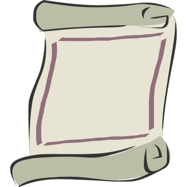 Scroll Outline PNG icons