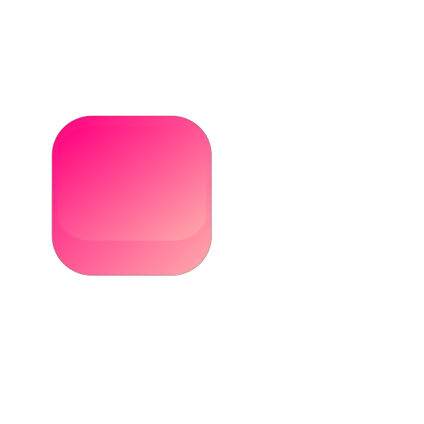 Pink Square Button PNG Clip art