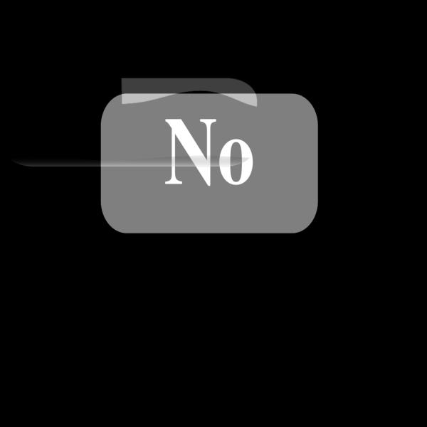 Not Button PNG Clip art