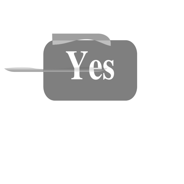New Yes Button PNG Clip art