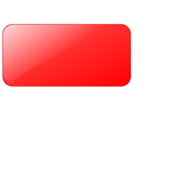 Blank Light Red  Button PNG Clip art