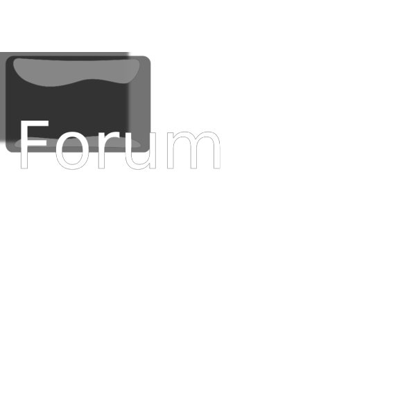 Forum Button PNG Clip art