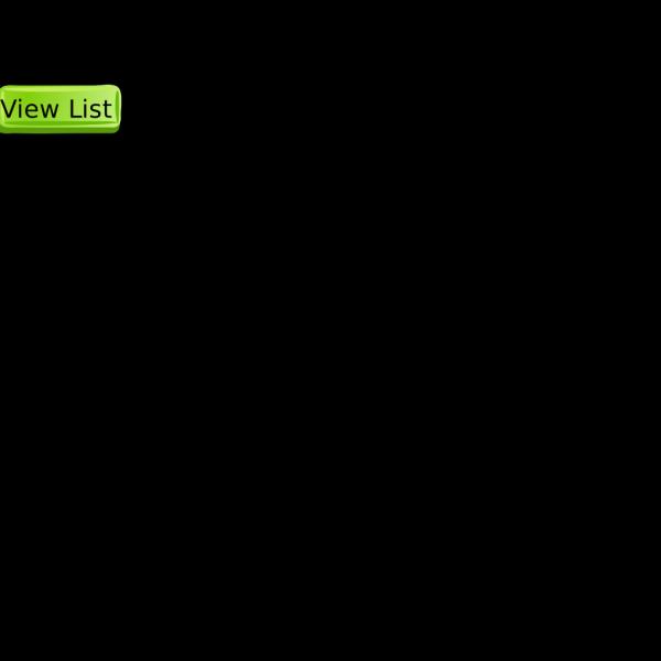 Green View List Button PNG Clip art