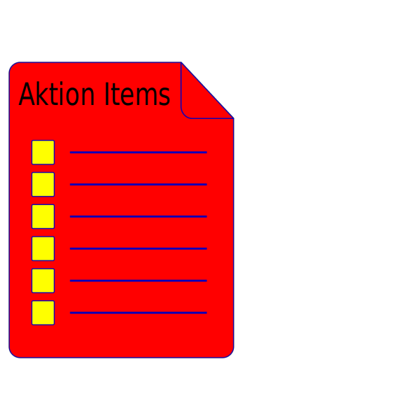 Listbutton Red PNG Clip art