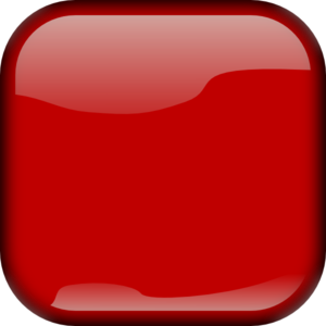 Red Square Button PNG Clip art