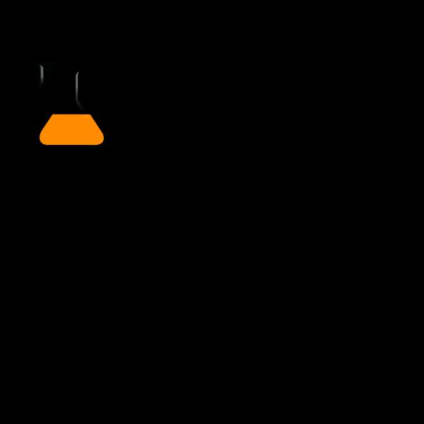 Orangeflask PNG Clip art