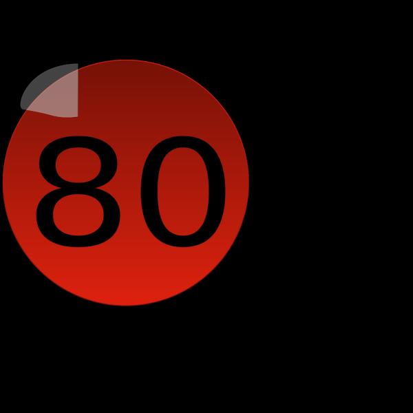 80r PNG Clip art