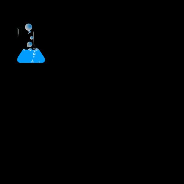 Blueflask/bubbles PNG images