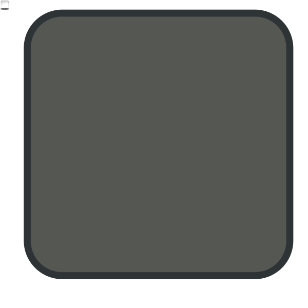 Grey Button PNG icons