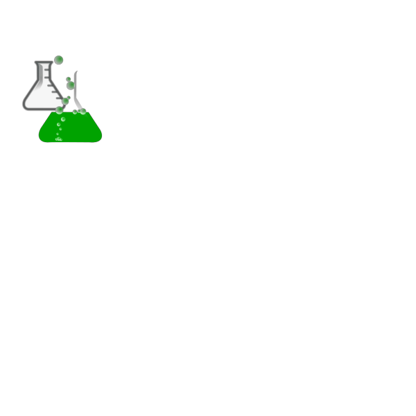 Greenflask/bubbles/invisibox PNG Clip art