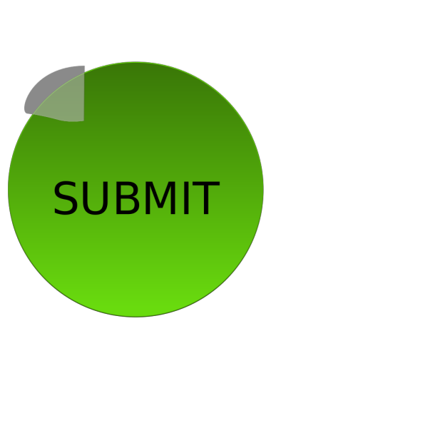 Green Submit PNG Clip art