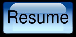 Resume.png PNG Clip art