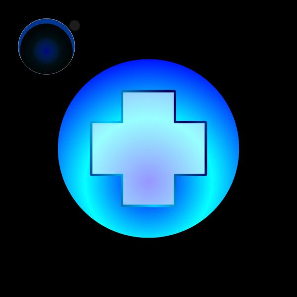 Blue Rec Button PNG Clip art