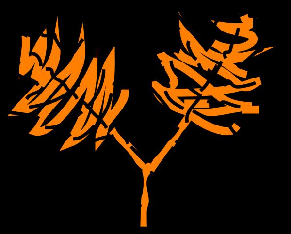 Orange E PNG Clip art