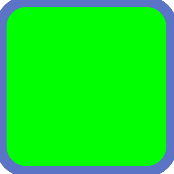 Green Square Submit Icon PNG Clip art