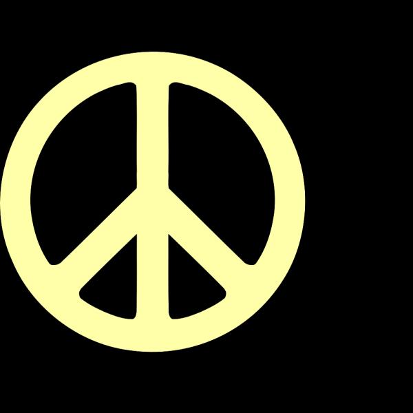 Becki Peace Sign PNG Clip art