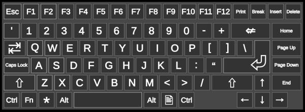 Keyboard Button PNG Clip art