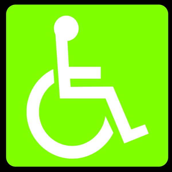 Handicapped Accessible Sign PNG Clip art