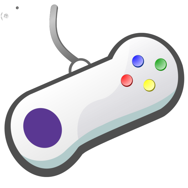 Gamepad White PNG icons