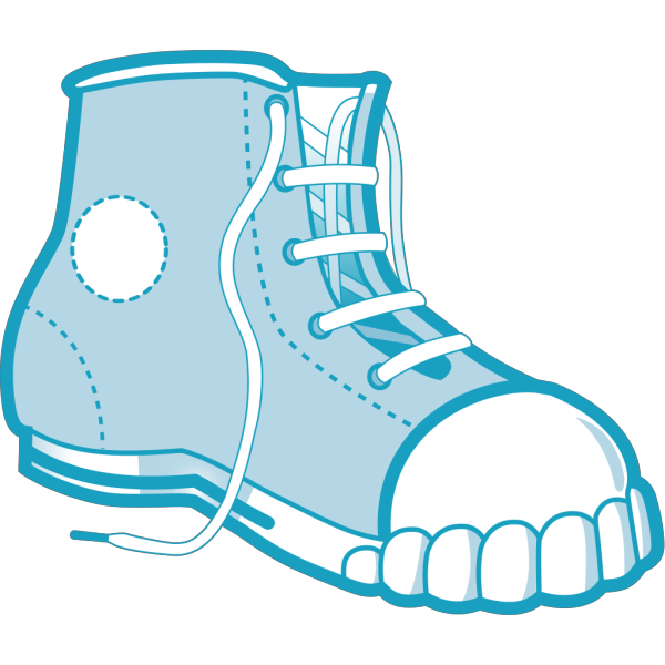 Clothing Blue Boot PNG images