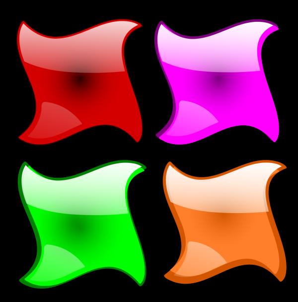 Web Buttons  PNG Clip art