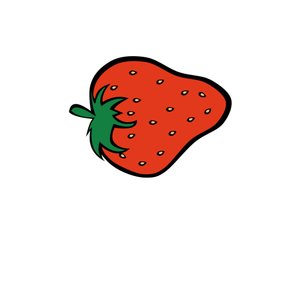 Ana 3 Er Strawberry Icon With Chocolate PNG Clip art