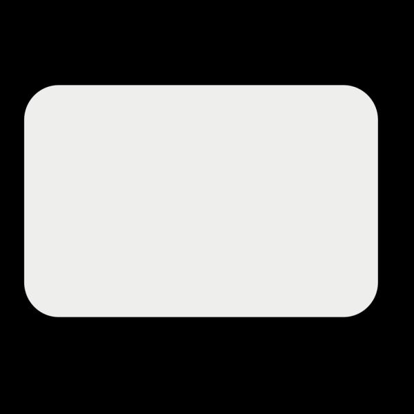 Black Frame Button PNG Clip art