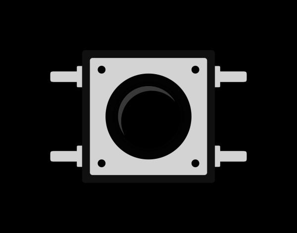 Busana Button Square PNG Clip art