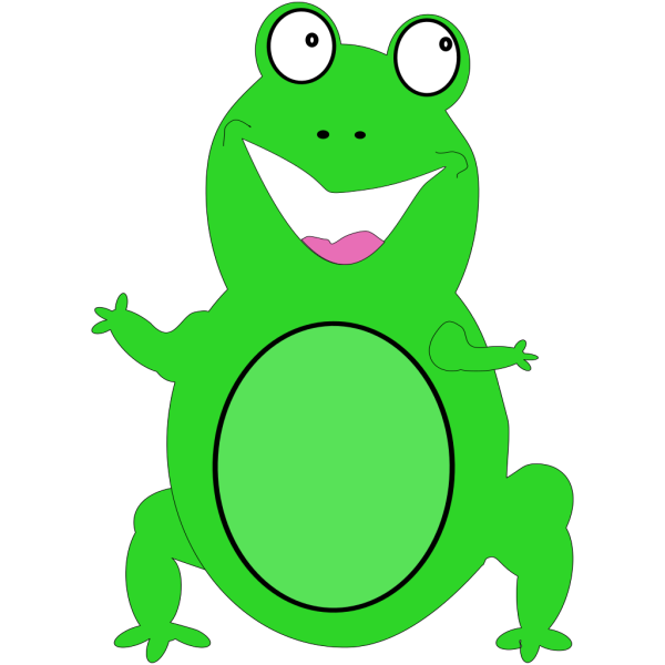 Happy Frog PNG images