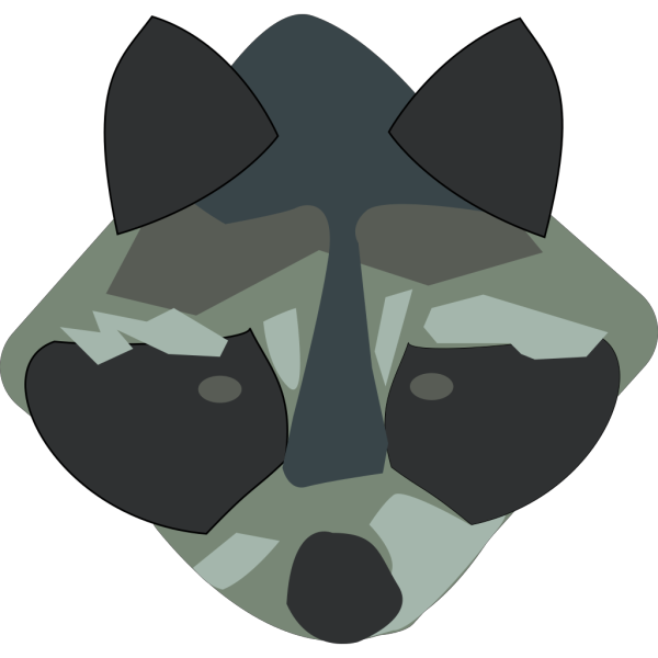Racoon PNG Clip art
