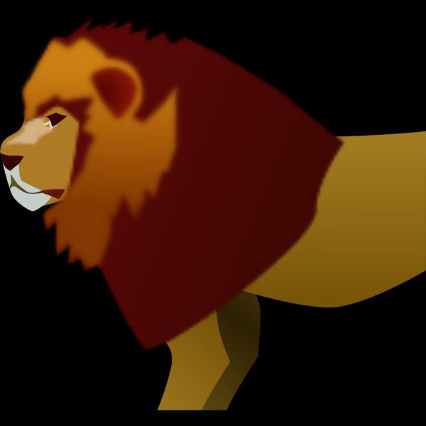 Lion 5 PNG Clip art