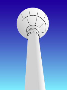 Water Tower PNG Clip art