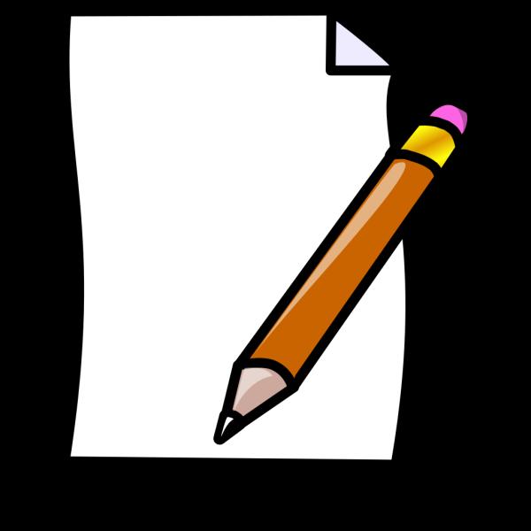 Document Paper Pencil PNG Clip art