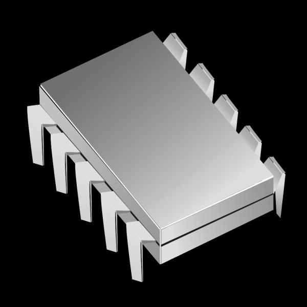 Microchip Electronics Ic PNG Clip art