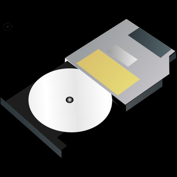 Slim Cd Drive PNG Clip art