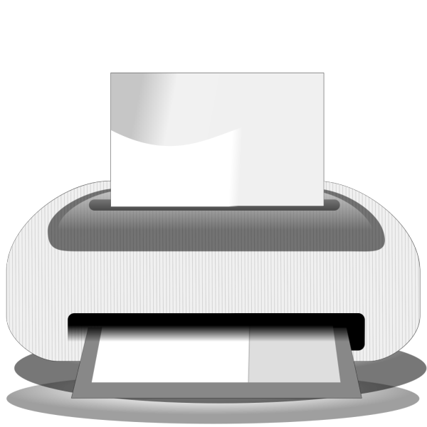 Etiquette Printer PNG icons