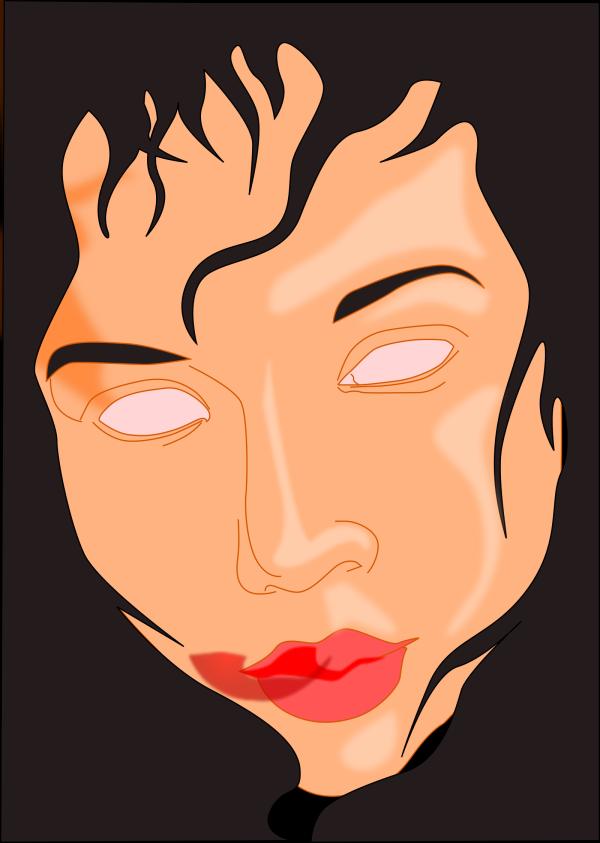 Gumnut Black PNG Clip art