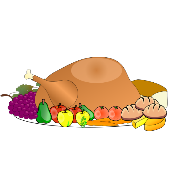 Thanksgiving Spread PNG Clip art
