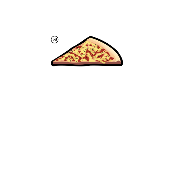 Cheese Pizza Slice PNG Clip art
